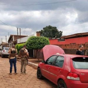 Suspeito de praticar furtos em vários estados é preso em Ponta Porã