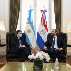 Cancilleres de Paraguay y Argentina acuerdan apertura de tres puntos fronterizos