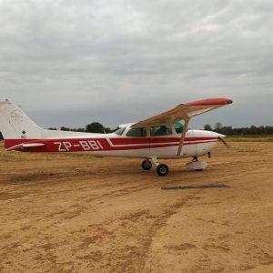 Desconocidos robaron una avioneta en Loma Plata