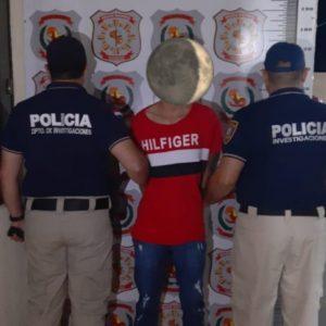 Policía captura a sicario en el interior de una iglesia evangélica de Capitán Bado