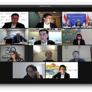 Mercosur y Singapur reanudan encuentros con miras a negociaciones comerciales